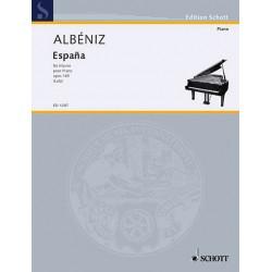 PARTITION PIANO ALBENIZ ESPANA AVIGNON KIOSQUE A MUSIQUE