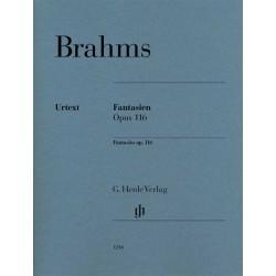 PARTITION PIANO BRAHMS FANTAISIES HN1216 LE KIOSQUE A MUSIQUE AVIGNON