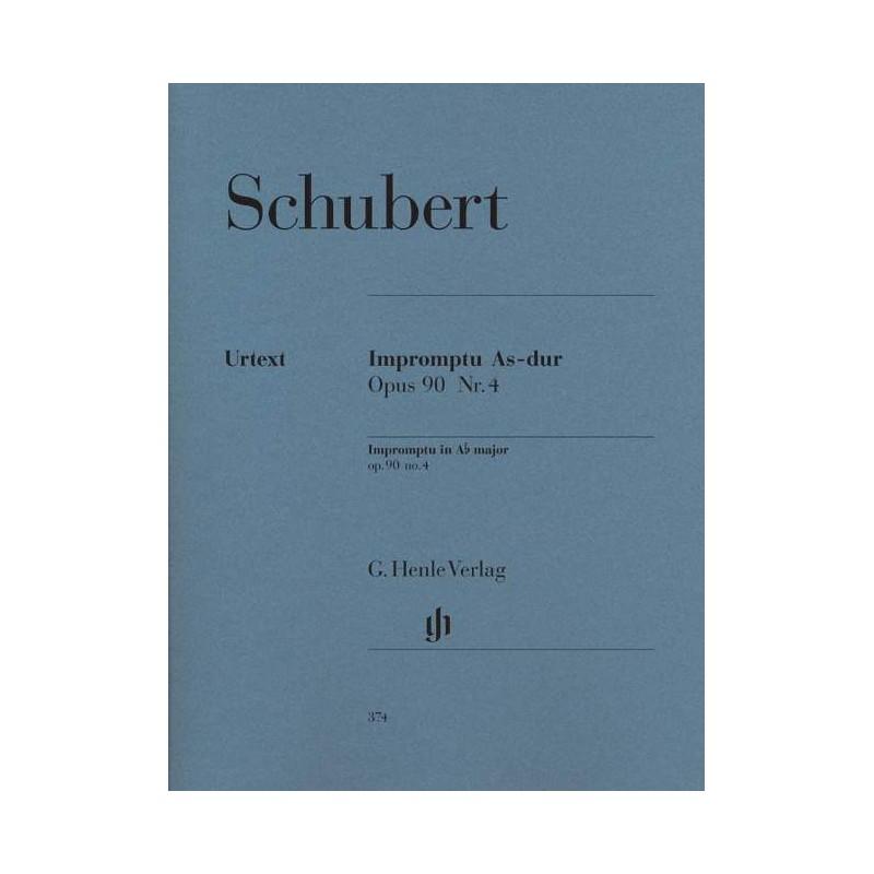 PARTITION PIANO SCHUBERT IMPROMPTU HN374 LE KIOSQUE A MUSIQUE AVIGNON