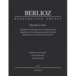 PARTITION ALTO BERLIOZ HAROLD EN ITALIE BA5457A LE KIOSQUE A MUSIQUE AVIGNON