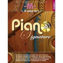 PARTITION PIANO M MATHIEU CHEDID PB812 LE KIOSQUE A MUSIQUE