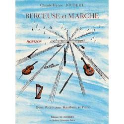 PARTITION CLAUDE HENRY JOUBERT BERCEUSE ET MARCHE HAUBTOIS C05034 LE KIOSQUE A MUSIQUE