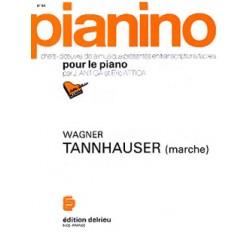 PARTITION PIANINO MARCHE DE TANNHAUSER PIANINO68 LE KIOSQUE A MUSIQUE