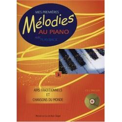 MES PREMIERES MELODIES AU PIANO VOLUME 2 HIT46024 LE KIOSQUE A MUSIQUE