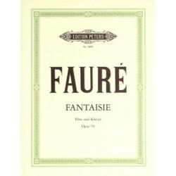 PARTITION FLUTE FANTAISIE FAURE OPUS 79 LE KIOSQUE A MUSIQUE