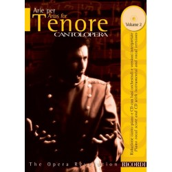 PARTITION CANTOLOPERA TENOR VOLUME 2 NR138824 LE KIOSQUE A MUSIQUE