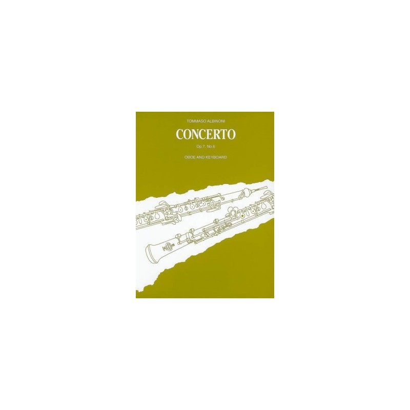 CONCERTO HAUTBOIS ALBINONI N°6 BH2200095 LE KIOSQUE A MUSIQUE