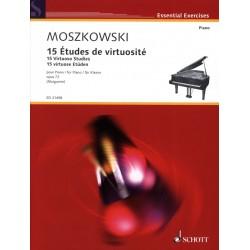 PARTITION PIANO ETUDES PER ASPERA ED21498 LE KIOSQUE A MUSIQUE