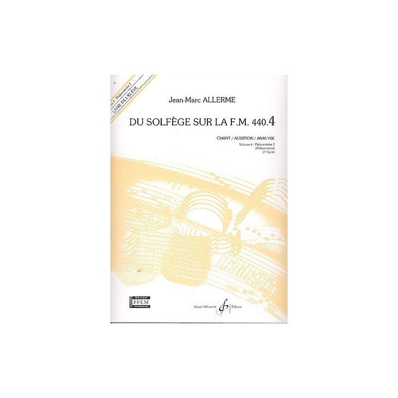 ALLERME DU SOLFEGE SUR LA FM 440.4 CHANT GB5284