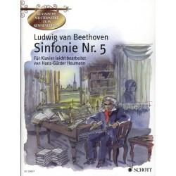 PARTITION PIANO BEETHOVEN SYMPHONIE N°5 LE KIOSQUE A MUSIQUE