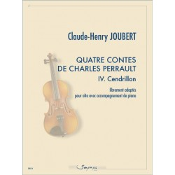 PARTITION ALTO CENDRILLON CLEUDE-HENRY JOUBERT SP0114 LE KIOSQUE A MUSIQUE