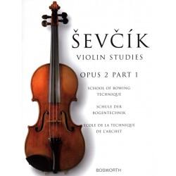 Sevcik opus 2 part 1   BOE005050 le kiosque à musique Avignon