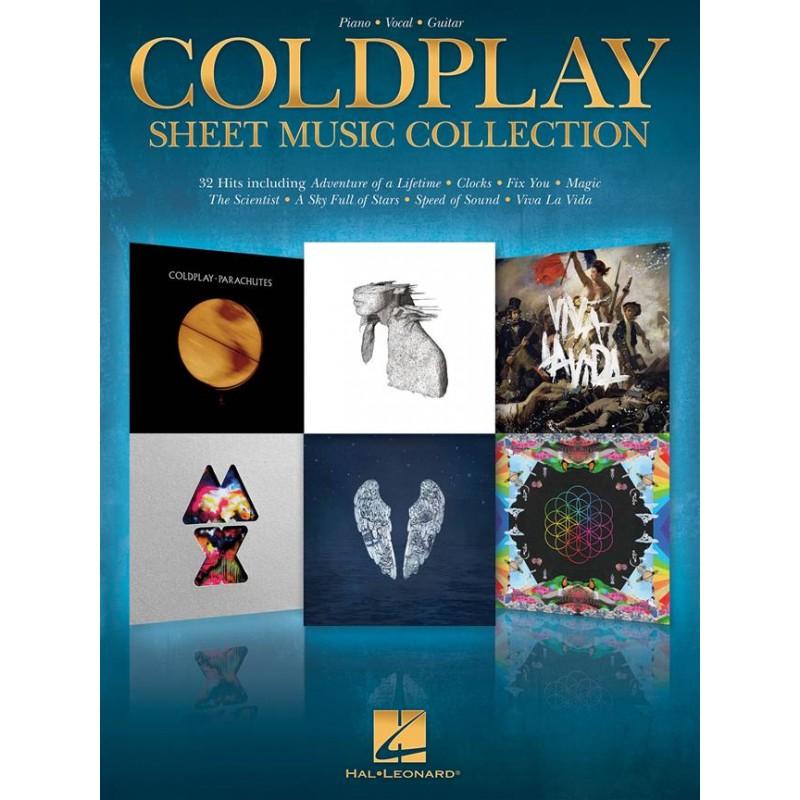 PARTITION COLDPLAY CHANT PIANO GUITARE HL00222686 LE KIOSQUE A MUSIQUE