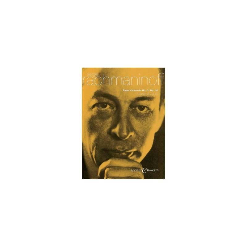 PARTITION PIANO RACHMANINOFF CONCERTO N°3 BH300059 LE KIOSQUE A MUSIQUE