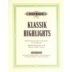 PARTITION KLASSIK HIGHLIGHTS EP10910B LE KIOSQUE A MUSIQUE