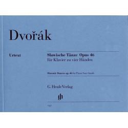 PARTITION PIANO 4 MAINS DVORAK DANSES SLAVES HN757 LE KIOSQUE A MUSIQUE