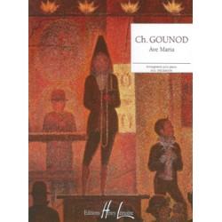 PARTITION PIANO AVE MARIA DE GOUNOD HL26720 LE KIOSQUE A MUSIQUE