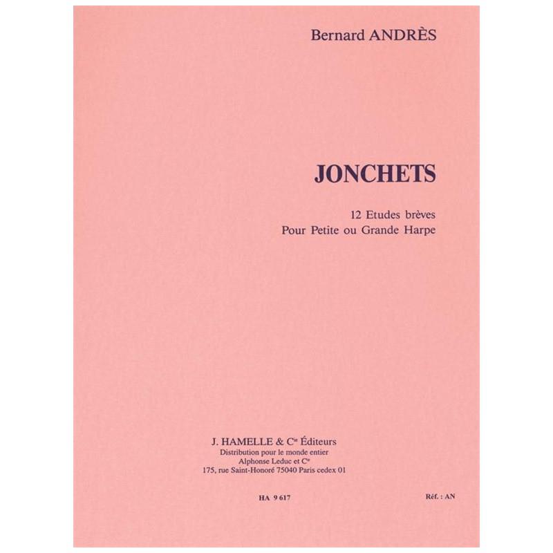 PARTITION HARPE JONCHETS HA009617 LE KIOSQUE A MUSIQUE