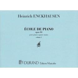 PARTITION PIANO 4 MAINS ENSKHAUSEN DC9485 LE KIOSQUE A MUSIQUE