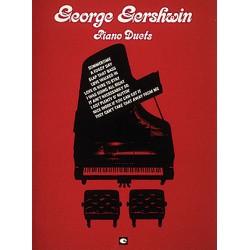 PARTITION GEORGE GERSHWIN PIANO DUETS HL00312603 LE KIOSQUE A MUSIQUE
