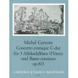 PARTITION CORETTE CONCERTO COMIQUE MARGOTON BP395 LE KIOSQUE A MUSIQUE