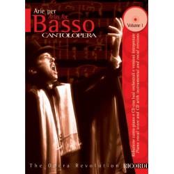PARTITION ARIE PER BASSO CANTOLOPERA NR138733 LE KIOSQUE A MUSIQUE