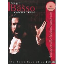 PARTITION ARIE PER BASSO CANTOLOPERA NR138826 LE KIOSQUE A MUSIQUE