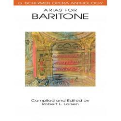 Partition Arias for baritone Robert Larsen HL50481100 Le kiosque à musique