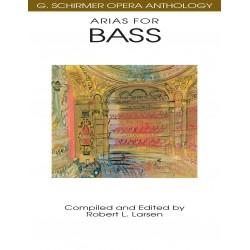 Partition Arias for Bass Robert Larsen HL50481101 Le kiosque à musique Avignon