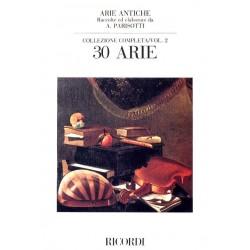 Parttion Parisotti Arie Antiche volume 2 NR53983 Le kiosque à musique Avignon