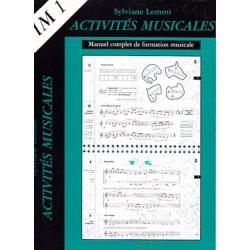 Sylviane Lemmi Activités musicales volume 1 Le kiosque à musique Avignon