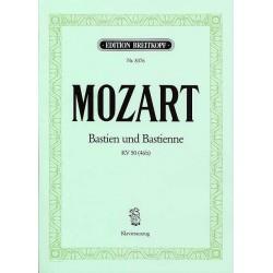 Partition Mozart Bastien et Bastienne Chant et piano EB8376 Le kiosque à musique Avignon