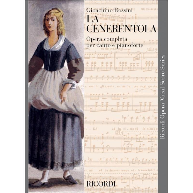 Partition Rossini La Cenerentola chant et piano CP04570705 Le kiosque à musique Avignon