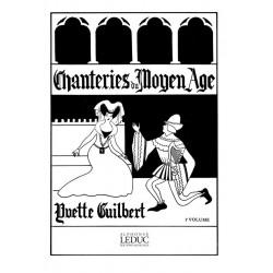 Partition Chanteries du Moyen Age HE29092 Le kiosque à musique Avignon