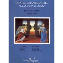 Partition Jacqueline Bonnardot Chants Sacrés HL26564 Le kiosque à musique Avignon
