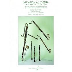 Partition clarinette Initiation à l'opéra GB6611 Le kiosque à musique Avignon