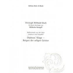 Partition piano Plainte d'Orphée BB101749 Le kiosque à musique Avignon