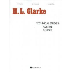 Technical studies for the cornet VOLMB120 Le kiosque à musique Avignon