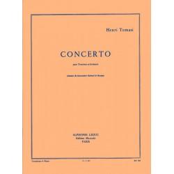 Partition Concerto pour trombone de Tomasi AL21687 le kiosque à musique