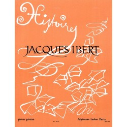 Partition de Jacques Ibert Histoires pour piano AL16512 Le kiosque à musique Avignon