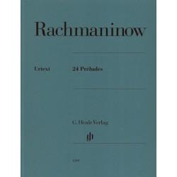 Partition Préludes de Rachmaninoff HN1200 Le kiosque à musique Avignon