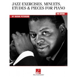 Partition Jazz Exercices by Oscar Peterson HL00311225 le kiosque à musique Avignon