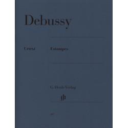 Partition piano Estampes de Debussy HN387 le kiosque à musique Avignon