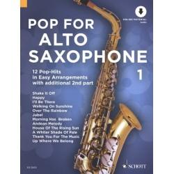 Pop for alto saxophone 1 ED22423 le kiosque à musique Avignon