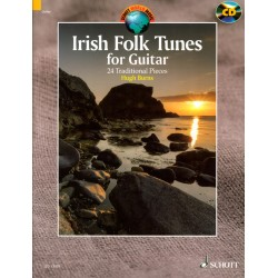 Irish folk tunes for guitar ED13571 le kiosque à musique