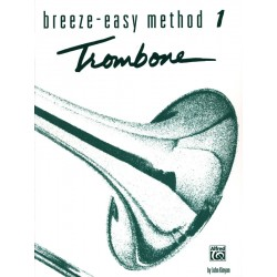 Partition Kinyon Breeze easy method trombone BE0017 le kiosque à musique