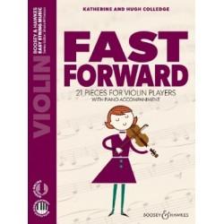 Fast forward pour violon et piano BH13544 le kiosque à musique Avignon