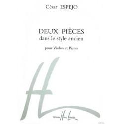 ESPEJO 2 pièces dans le style ancien HL25261