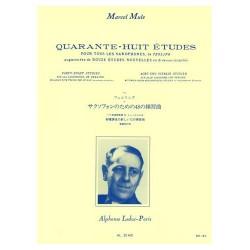Partitions saxophone - 48 études de Ferling par Marcel Musle - Le kiosque à musique