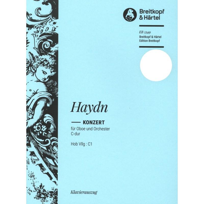 Partition Hautbois Haydn Concerto en Do Majeur EB5349 le kiosque à musique Avignon